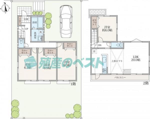 その他延床面積106.11平米、外構工事も含まれており価格は1750万円税込でご提案出来ます。