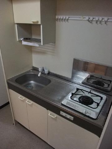 居室1口ガスコンロ付キッチン
