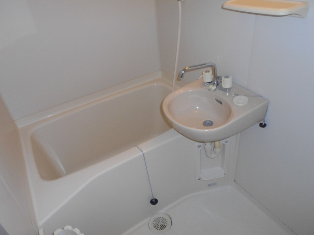 居室浴室にも洗面台