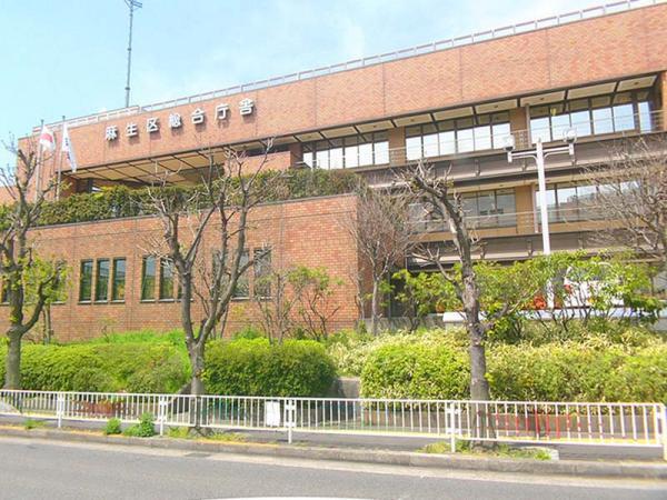 現地周辺麻生区総合庁舎