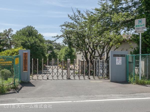 現地周辺市川市立中国分小学校 1020m