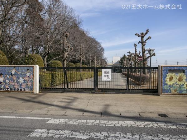 現地周辺野田市立山崎小学校 800m