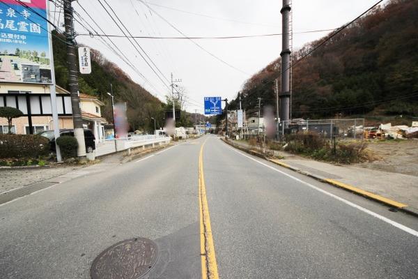 その他現地土地写真:前面道路