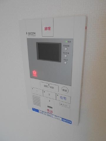 居室セコム標準装備