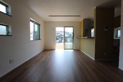 居室参考プラン当社自由設計施工例:リビング