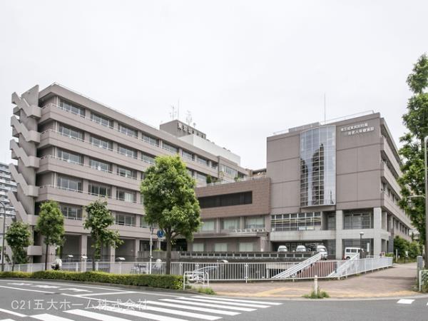 現地周辺東京城東病院 690m