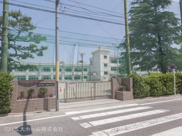 現地周辺江戸川区立小岩第三中学校 240m