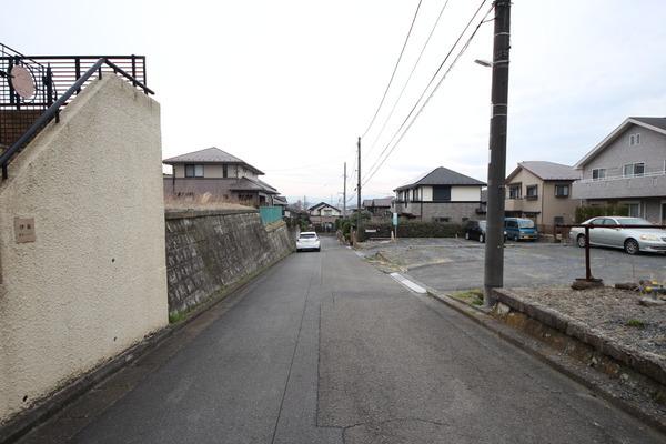 その他前面道路含む現地写真:現地