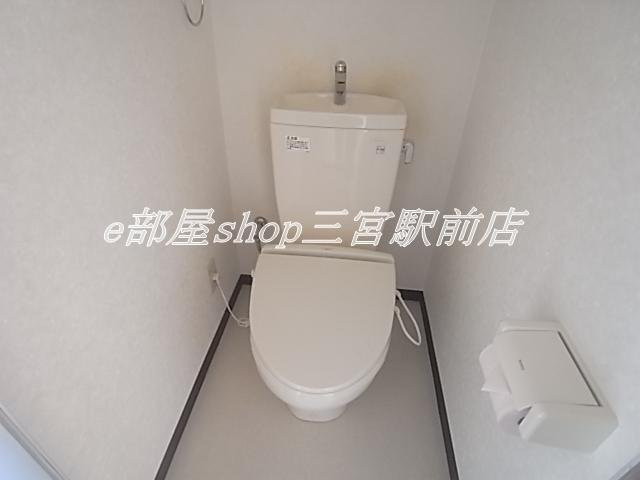 その他清潔感のあるトイレです