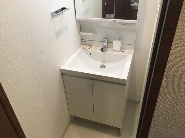 その他スペースが確保できる洗面所です