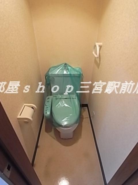 その他落ち着いた色調のトイレです