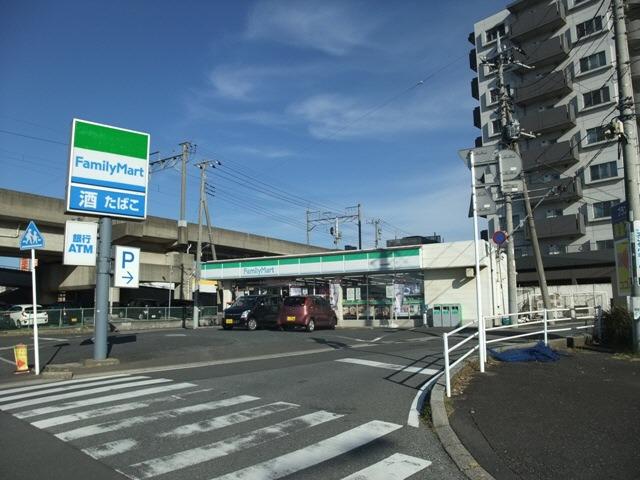 現地周辺ファミリーマート千葉寺駅東口店195m(徒歩3分)
