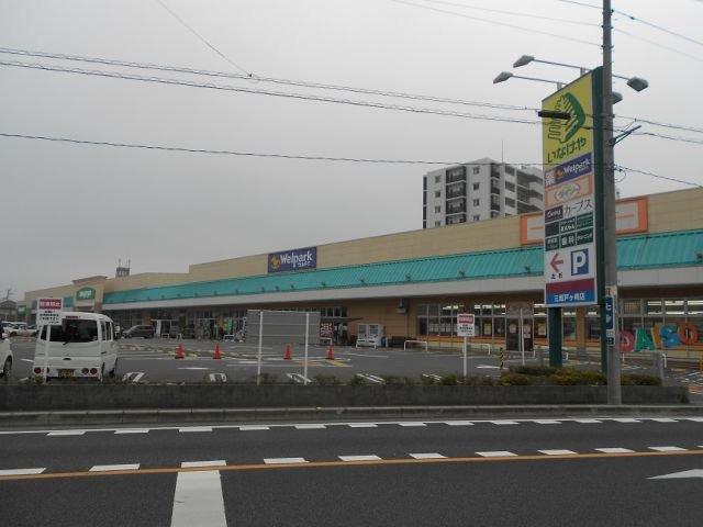 現地周辺いなげや三郷戸ケ崎 スパー 100円ショップダイソー・ドラッグストアー併設 6分