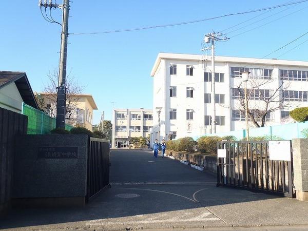 現地周辺茅ヶ崎市立浜須賀中学校 965m