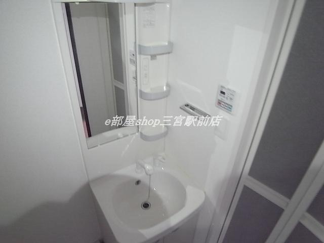 その他ゆったりとスペースのある洗面所