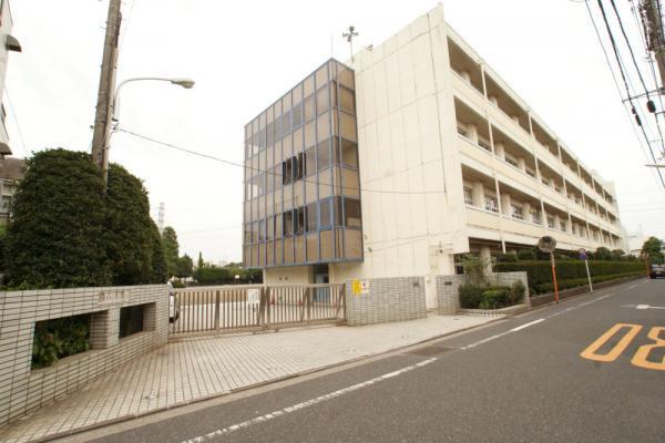 現地周辺武蔵野市立第三中学校