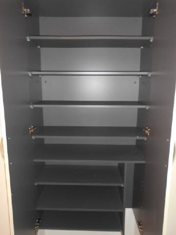 居室大容量のシューズボックス