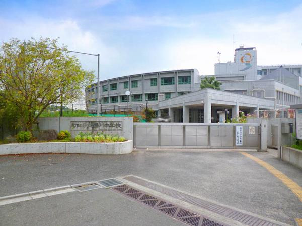 現地周辺鶴川中学校