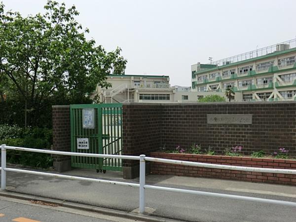 現地周辺小金井市立緑小学校