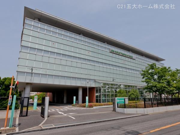 現地周辺日本大学松戸歯学部付属病院 1850m
