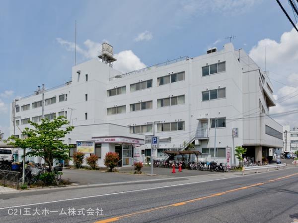 現地周辺名戸ヶ谷病院 750m