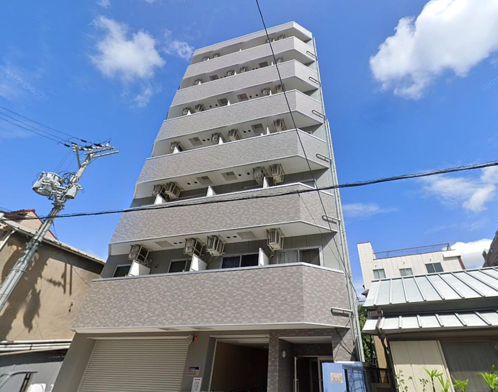 福島 徒歩9分1K/マンスリーリブマックス福島パークサイド【NET対応・洗浄機能
