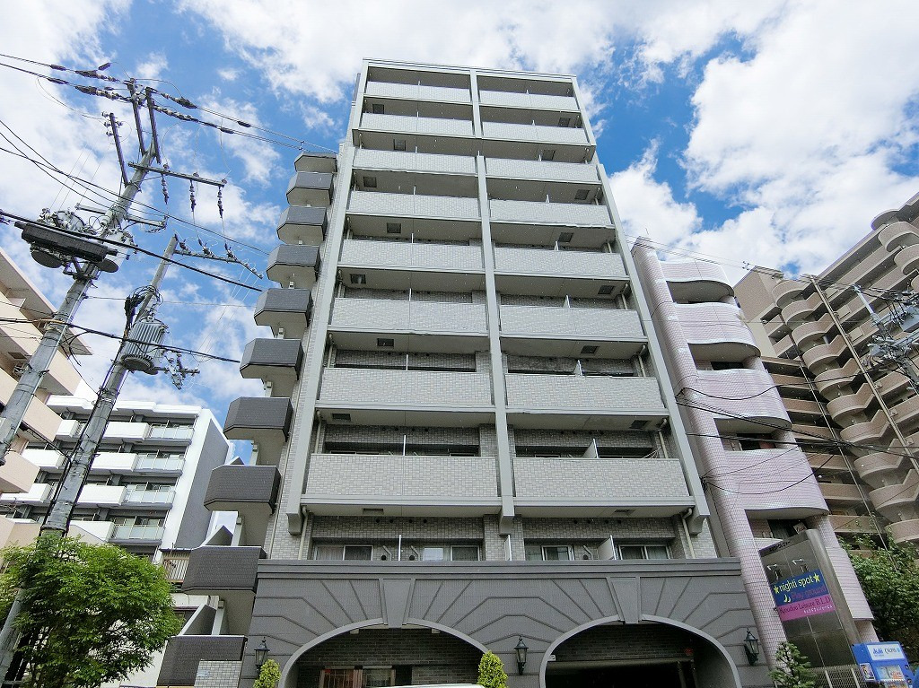 京橋 徒歩4分1K/マンスリーリブマックス京橋ステーションプラザ【セミダブル・浴