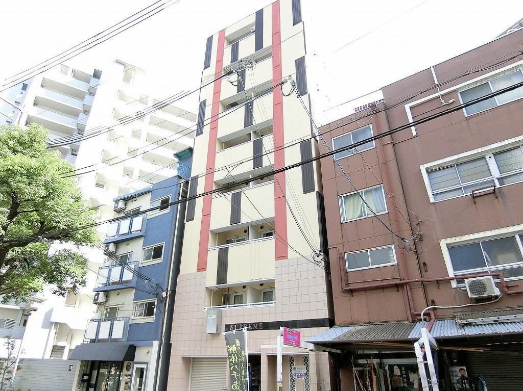 神戸 徒歩4分1K/マンスリーリブマックス神戸駅前シュープリーム【2014年築・