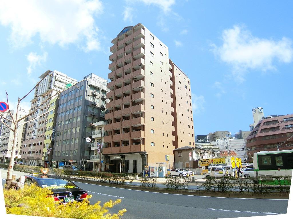 新神戸 徒歩2分1K/マンスリーリブマックス新神戸プレサンス1st【1K・NET対