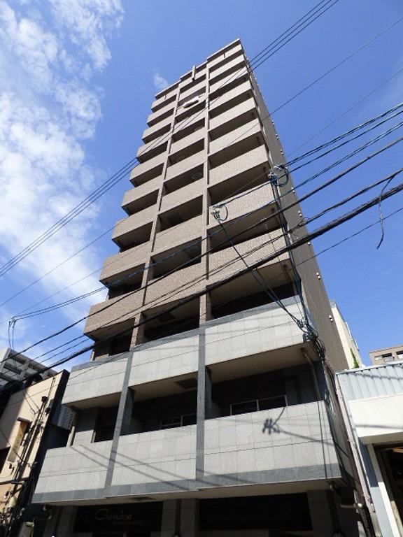 阿波座 徒歩4分1K/マンスリーリブマックス阿波座ジュネーゼ【NET対応・洗浄機能