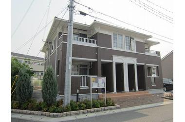 シャトー・シモハタ 1 2階 2LDK 賃貸アパート