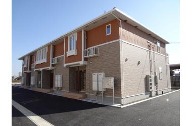 フルール・ソレイユ Ⅱ 1階 2DK 賃貸アパート