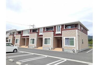クレールⅡ B 1階 2DK 賃貸アパート