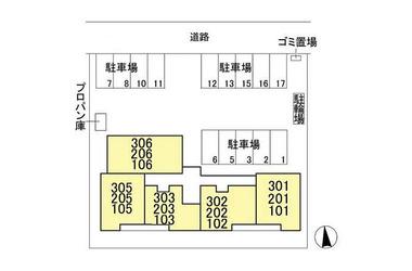 ボナール新白岡 2階 1LDK 賃貸アパート