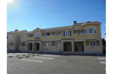 黒磯 バス8分 停歩7分 2階 2LDK 賃貸アパート