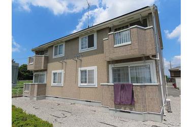 グランパルク B 2階 2LDK 賃貸アパート