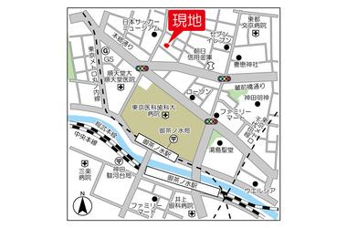 御茶ノ水 徒歩7分 13階 1LDK 賃貸マンション