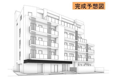 大井町 徒歩8分 3階 1LDK 賃貸マンション