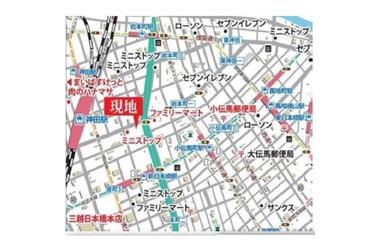 新日本橋 徒歩4分 5階 1LDK 賃貸マンション