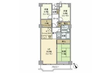 ソフィア上尾A 9階 3LDK 賃貸マンション