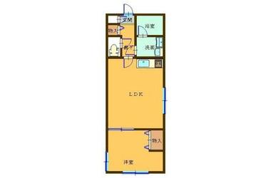 コンフォール吉祥寺EAST 2階 1LDK 賃貸アパート