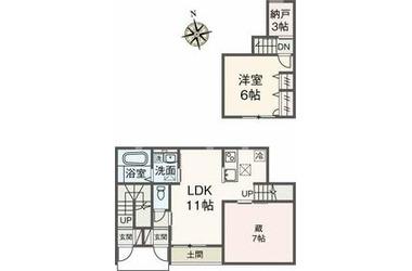 プルミエK.D 1階 1LDK 賃貸アパート