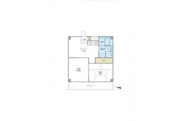 マツモトビル 10階 2DK 賃貸マンション