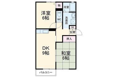 東我孫子 徒歩15分 2階 2DK 賃貸アパート