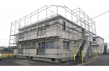 ハイムアリーナ B 2階 2DK 賃貸アパート