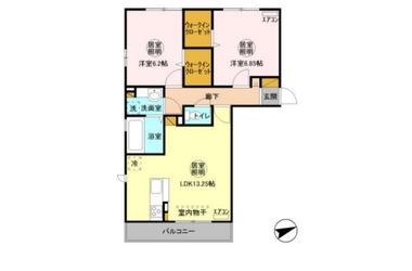 NewRecente港南台 2階 2LDK 賃貸アパート