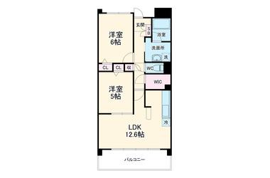 セディア・ヴィラージュ 1階 2LDK 賃貸マンション