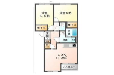 ちはら台 徒歩10分 2階 2R 賃貸アパート