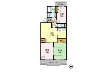 ビューコート学園台 2階 3LDK 賃貸マンション