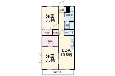 ちはら台 徒歩18分 2階 2LDK 賃貸アパート